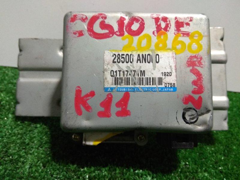 Блок управления рулевой рейкой Nissan March K11 CG10DE 28500 AN000 блок управления рулевой