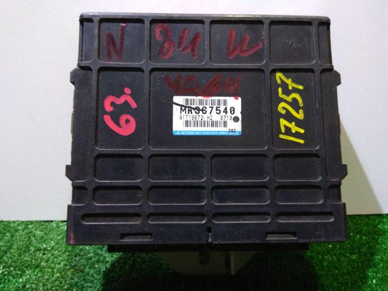 Компьютер Mitsubishi Chariot Grandis N84W 4G64 MD367540 комп ДВС в пластике под АКПП F4A422E5A/97-99гг/К63