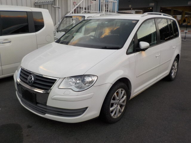 Авто на разбор Volkswagen Touran 1T3 CAVC 2006 WVGZZZ1TZAW0927X3 машина куплена под разбор, находится в