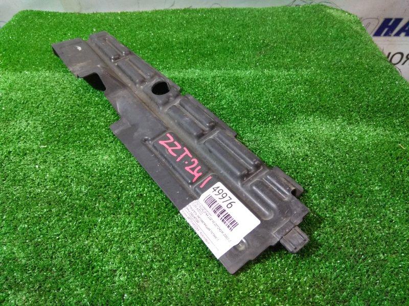 Защита радиатора Toyota Caldina ZZT241W 1ZZ-FE 2002 53289-63010 обтекатель (направляющая потока) с