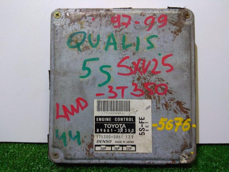 Компьютер Toyota Mark Ii Qualis SXV25W 5S-FE 4WD A/T