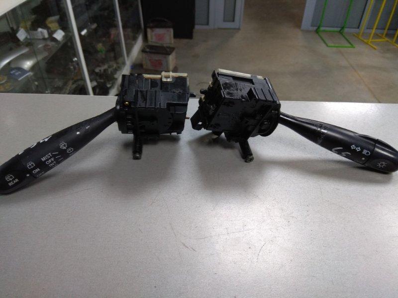 Переключатель подрулевой Nissan Moco MG21S 252604A0A0, 251604A0A0 2 части / L+R под метлу/К65