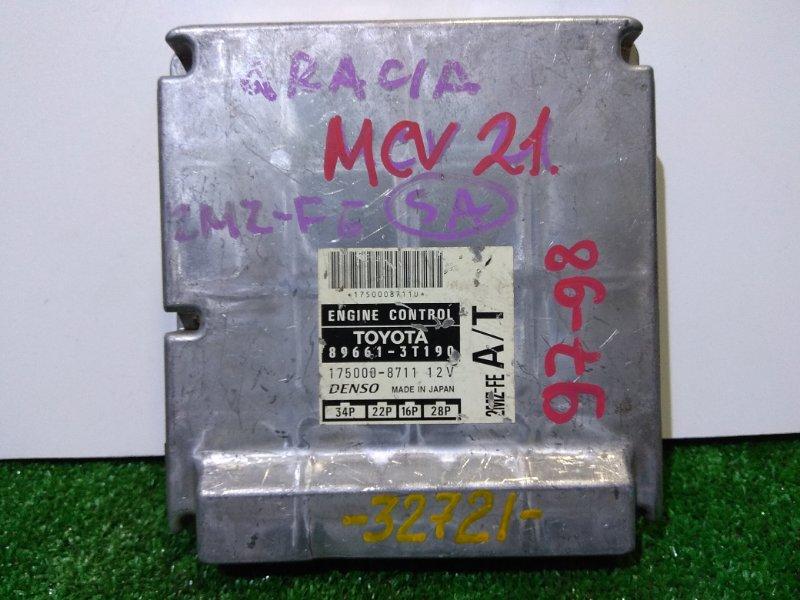Компьютер Toyota Mark Ii Qualis MCV21W 2MZ-FE 97-98 1мод