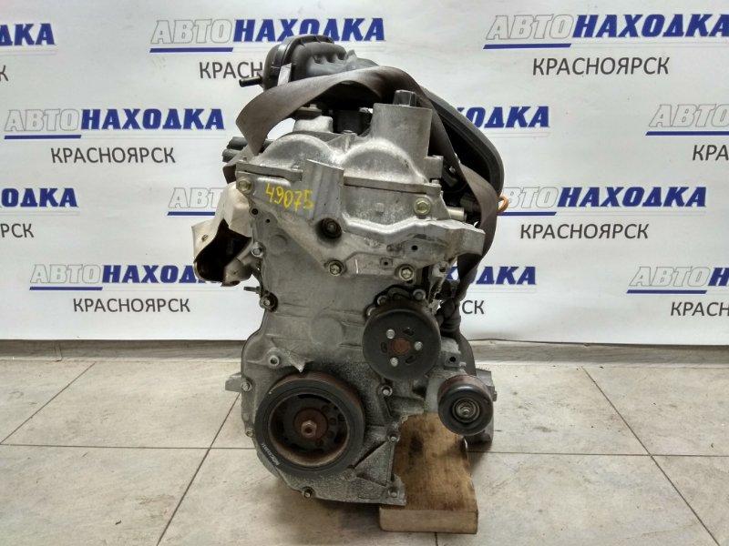 Двигатель Nissan Ad VY12 HR15DE 2006 084361A , № 084361A , пробег 92 т.км. без компрессора и генератора