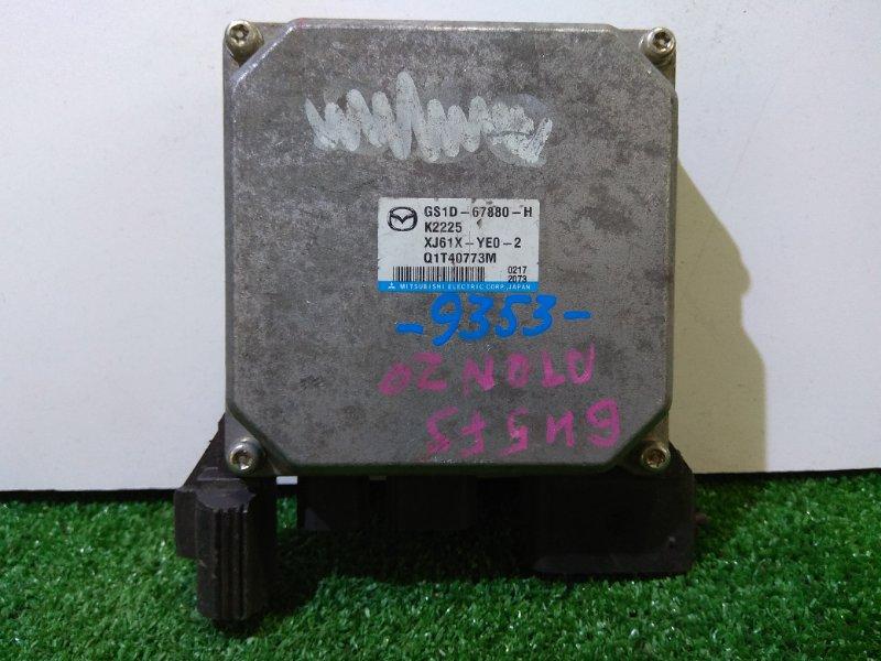 Блок управления рулевой рейкой Mazda Atenza GH5FS L5-VE 2008 Q1T40773M, GS1D-67880-H блок управления