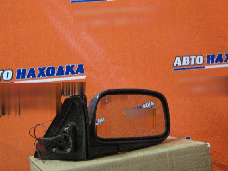 Зеркало Toyota Corolla Ii EL51 5E-FE переднее правое 3 провода