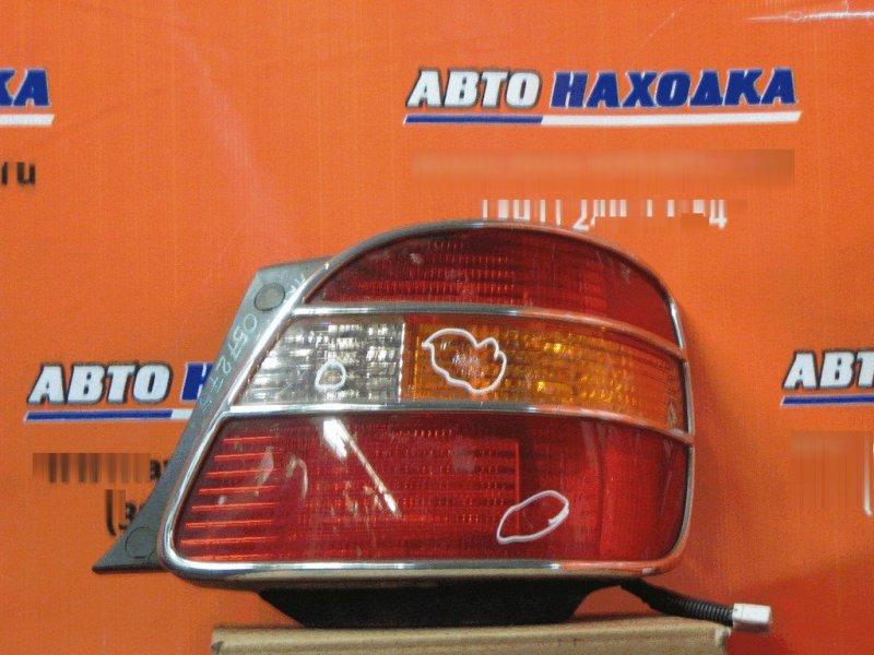 Фонарь задний Toyota Aristo JZS160 2JZ-GE правый 30242 дефект стекла