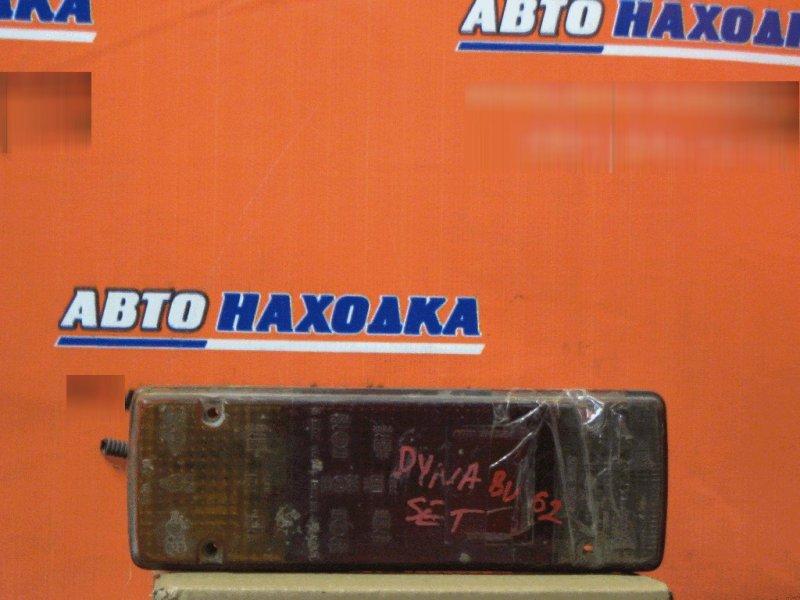 Фонарь задний Toyota Dyna BU62 13B левый 3610