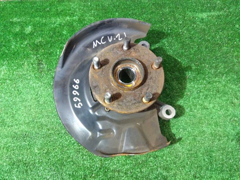 Ступица Toyota Mark Ii Qualis MCV21W 2MZ-FE передняя правая FR без диска и суппорта