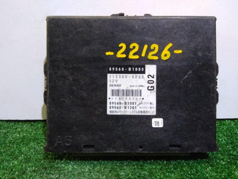 Компьютер Daihatsu Boon M301S K3-VE 89560-B1080 К67