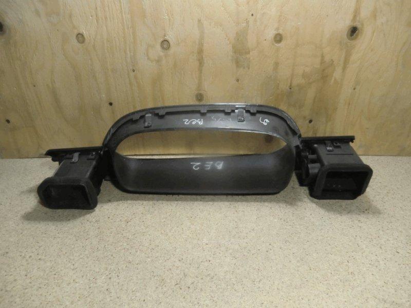 Накладка пластик в салон Honda Edix BE2 D17A под щиток приборов с дефлекторами