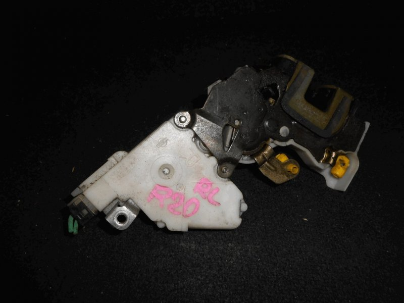 Замок двери Nissan Mistral R20 TD27TI задний левый RL с соленоидом