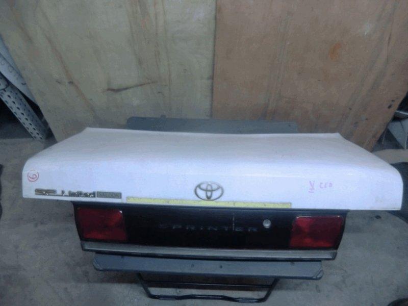 Крышка багажника Toyota Sprinter AE100 5A-FE 12-404 2мод белая/стоп