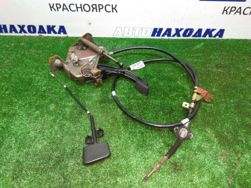 Механизм стояночного тормоза Toyota Mark Ii JZX90 1JZ-GE 04.1995 ножной рычаг ручника с