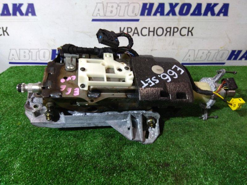 Колонка рулевая Bmw 740I E65 N62 B40A 2005 6757492 с двумя электромоторами