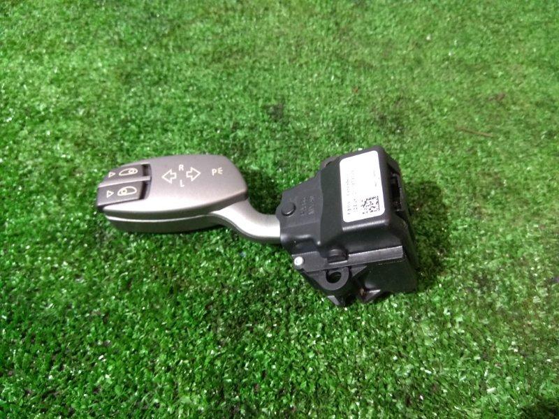 Переключатель подрулевой Bmw 740I E65 N62 B40A 2005 61316959984 на поворотники, левый руль,