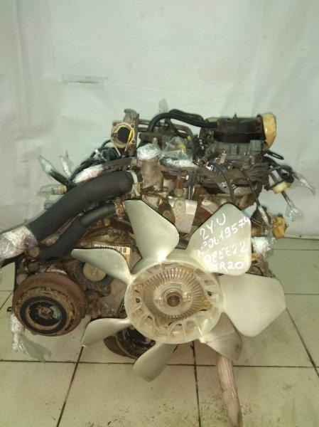 Двигатель Toyota Townace YR20G 2Y-U 619574 K5 68т.км карб
