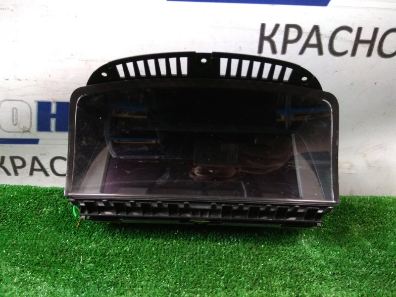 Телевизор в салон Bmw 740I E65 N62 B40A 2005 65826960096 рестайлинг / информационный дисплей с