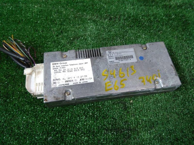 Компьютер Bmw 740I E65 N62 B40A 2005 84216915943 Блок управления телефоном
