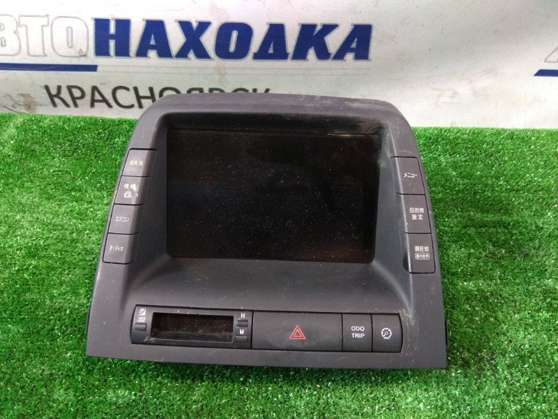 Телевизор в салон Toyota Prius NHW20 1NZ-FXE 2003 86110-47052 монитор с торпедо, (Дисплей