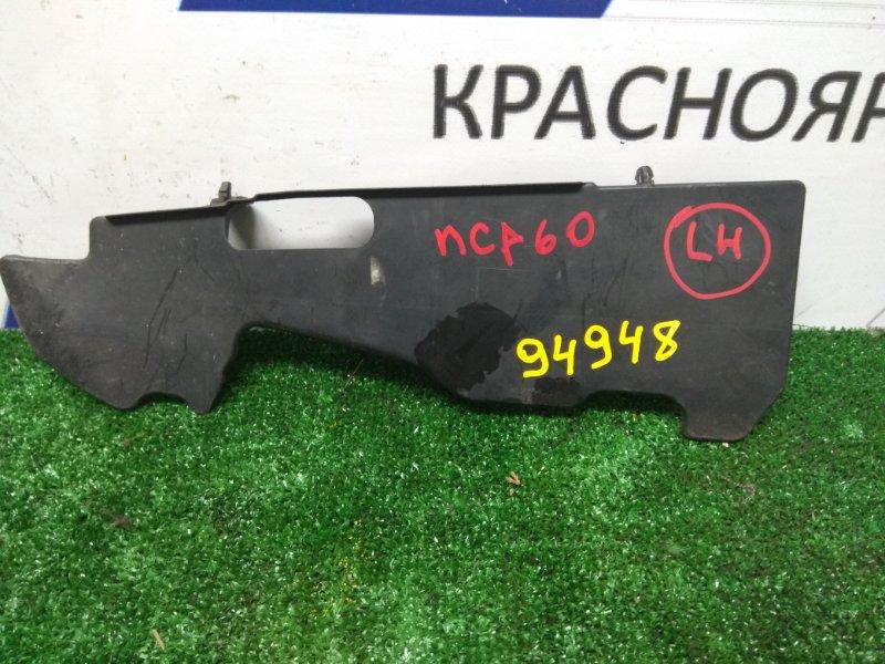 Защита радиатора Toyota Ist NCP60 2NZ-FE левая направляющая потока воздуха /левая/