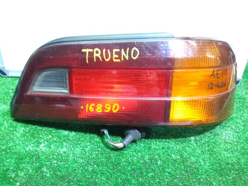 Фонарь задний Toyota Sprinter Trueno AE111 задний правый 12-426 R под полировку