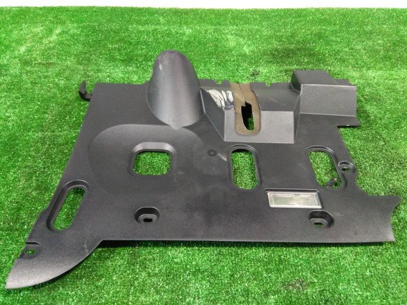 Накладка пластиковая в салон Bmw 735I E65 N62 B36A 2001 передняя левая нижняя 51458223644 ПОД ТОРПЕДО,