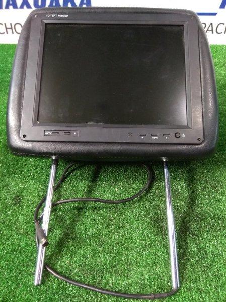 Телевизор в салон Honda Stepwgn RF7 K24A 2001 TFT монитор, встроенный в подголовник, диагональ 10