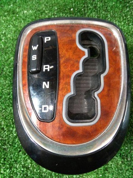 Консоль кпп Mercedes-Benz S500 220.175 113.960 1998 облицовка салонного селектора АКПП (под дерево,