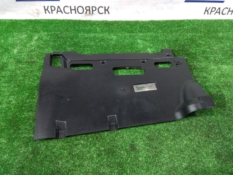 Накладка пластиковая в салон Bmw 735I E65 N62 B36A 2001 передняя правая нижняя 51458223670 под торпедо