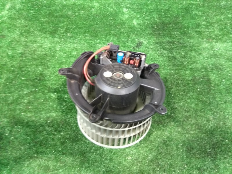 Мотор печки Bmw 735I E65 N62 B36A 2001 64116934390 левый руль