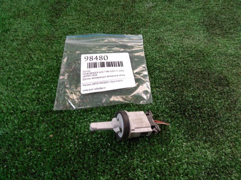 Датчик температуры Volkswagen Golf VW GOLF V 2006 1K0907543A Датчик температуры воздуха в печку