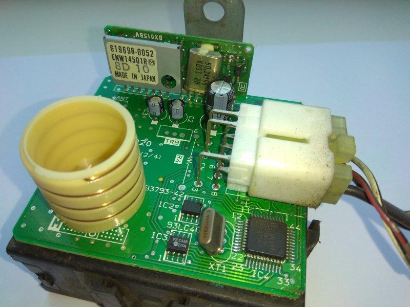 Компьютер Daihatsu Pyzar G301G 619808-0020, 619698-0052, ENW14501R блок на управление замками, с фишкой