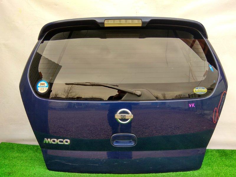 Дверь задняя Nissan Moco MG22S K6A со спойлером