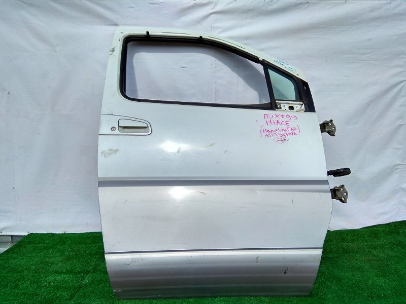 Дверь Toyota Grand Hiace KCH16 1KZ-TE передняя правая