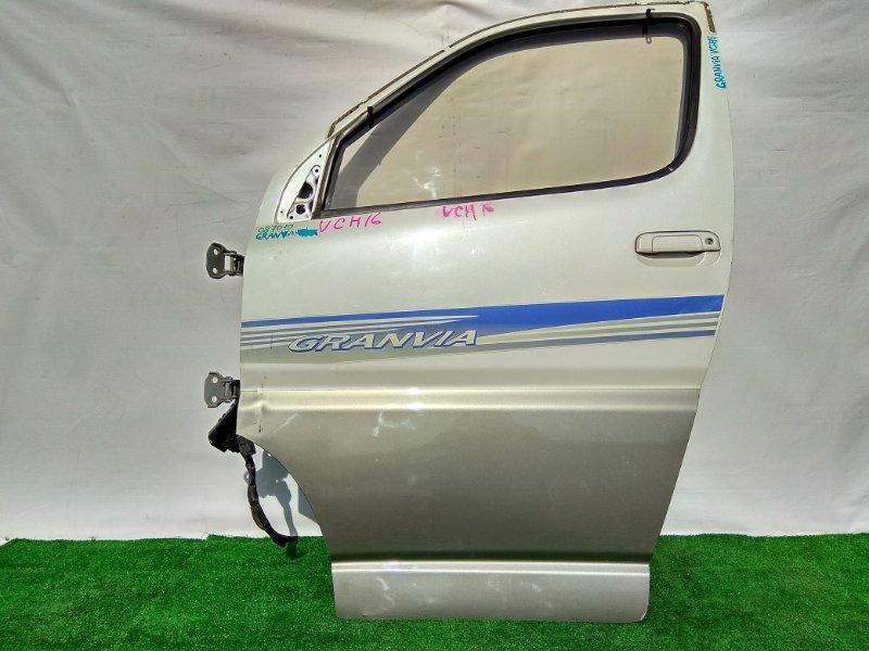 Дверь Toyota Grand Hiace KCH16W 1KZ-TE передняя левая