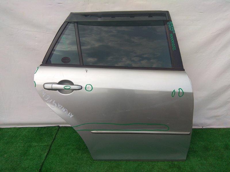 Дверь Mazda Atenza Sport GY3W L3-VE задняя правая универсал!!!