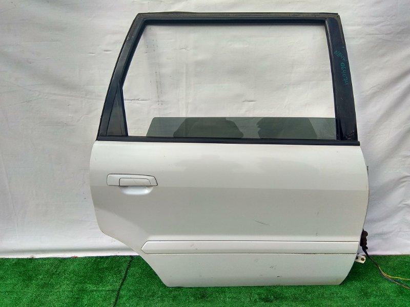 Дверь Mitsubishi Chariot Grandis N84W 4G64 задняя правая