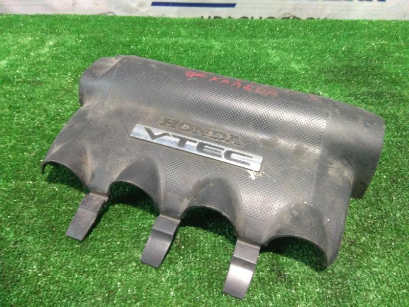 """Крышка гбц Honda Fit GD3 L15A 2001 декоративная крышка на ДВС с надписью """"VTEC"""""""