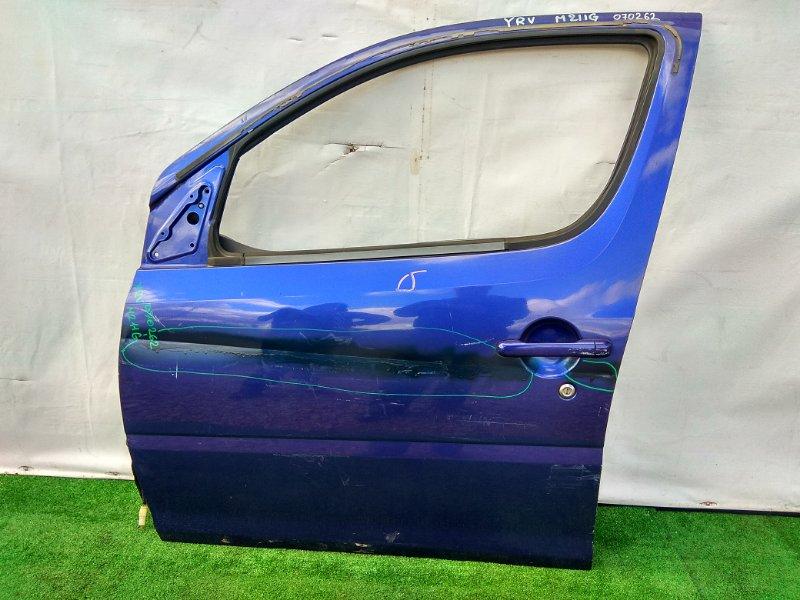 Дверь Daihatsu Yrv M211G K3-VE передняя левая МЯТАЯ