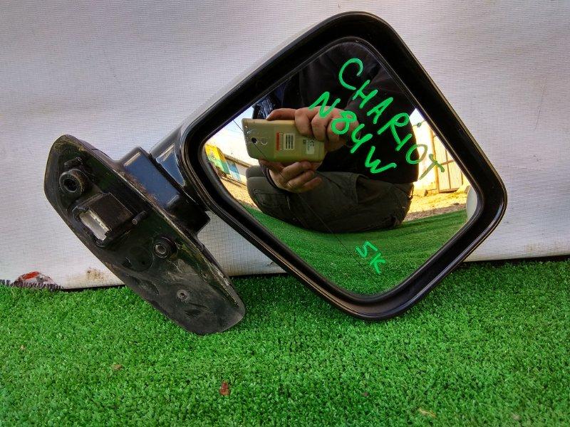 Зеркало Mitsubishi Chariot N84W 4G64 переднее левое Фишка на 5К