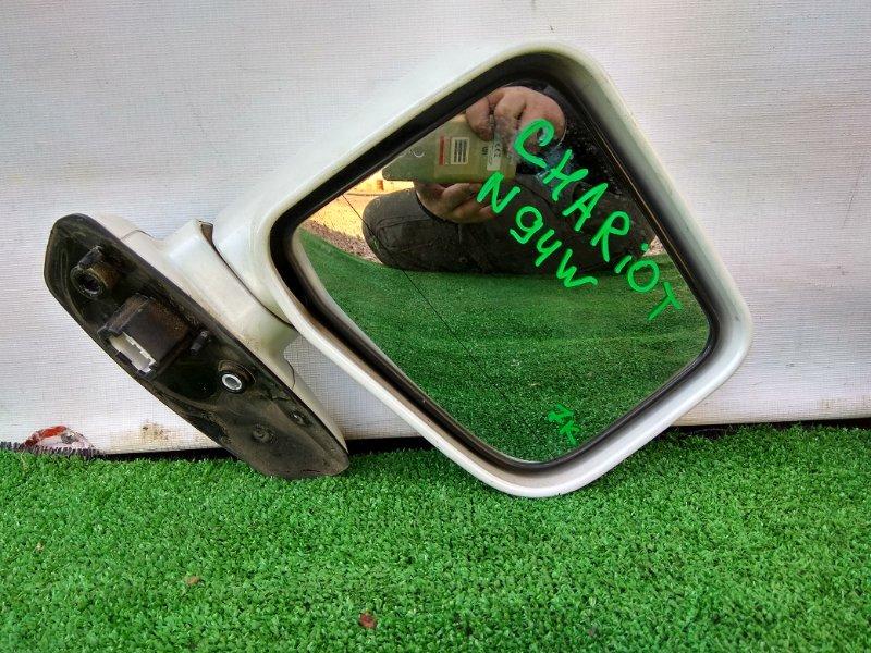 Зеркало Mitsubishi Chariot Grandis N84W 4G64 переднее правое Фишка на 7К