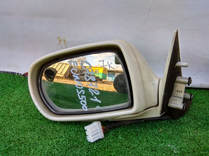 Зеркало Mazda Eunos 500 CFEPE KF переднее левое Фишка на 7 Контактов