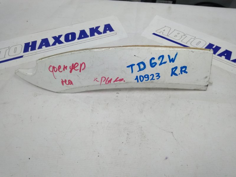 Накладка на крыло Suzuki Escudo TD61W задняя правая RR