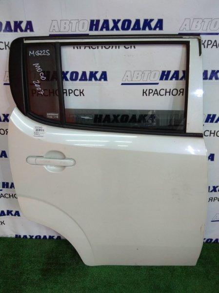 Дверь Nissan Moco MG22S K6A 2006 задняя правая задняя правая, в сборе