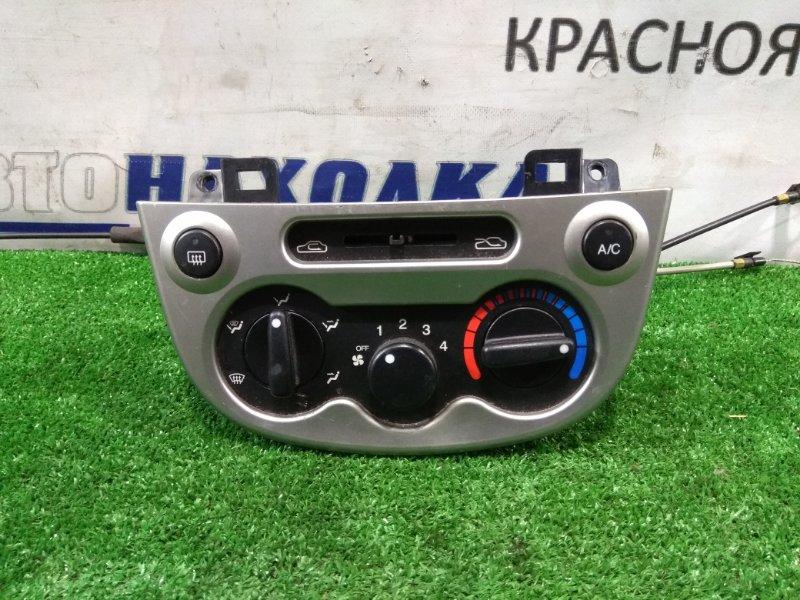 Климат-контроль Chevrolet Spark M200 F8CV 2005 электромеханический с тросиками