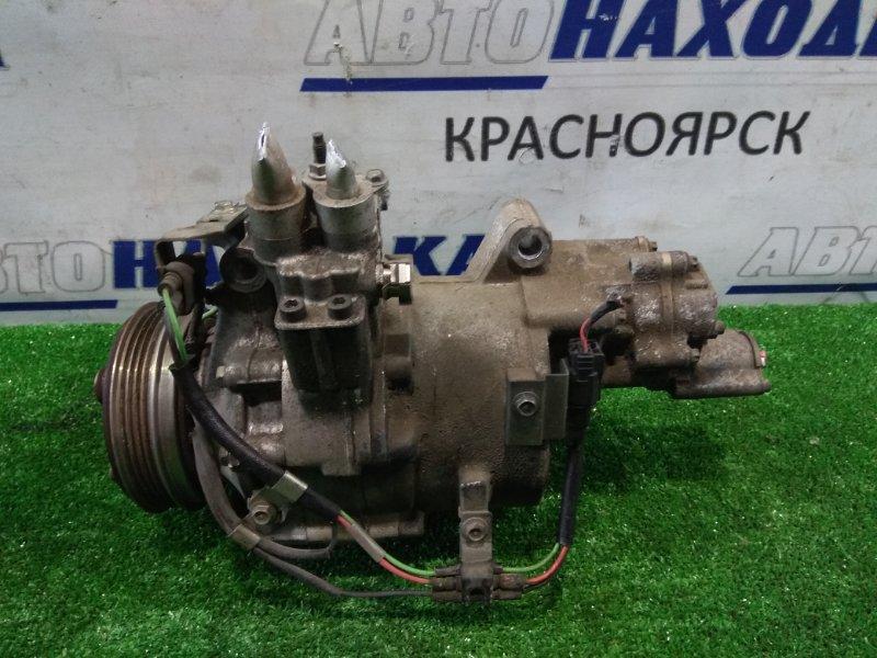 Компрессор кондиционера Honda Civic Hybrid FD3 LDA 2005 гибридный, электромеханический