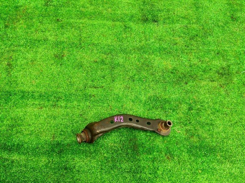 Рычаг подвески Nissan Tiida JC11 HR15DE передний правый ВЕРТИКАЛЬНЫЙ НА БАЛКУ, MARCH AK12,