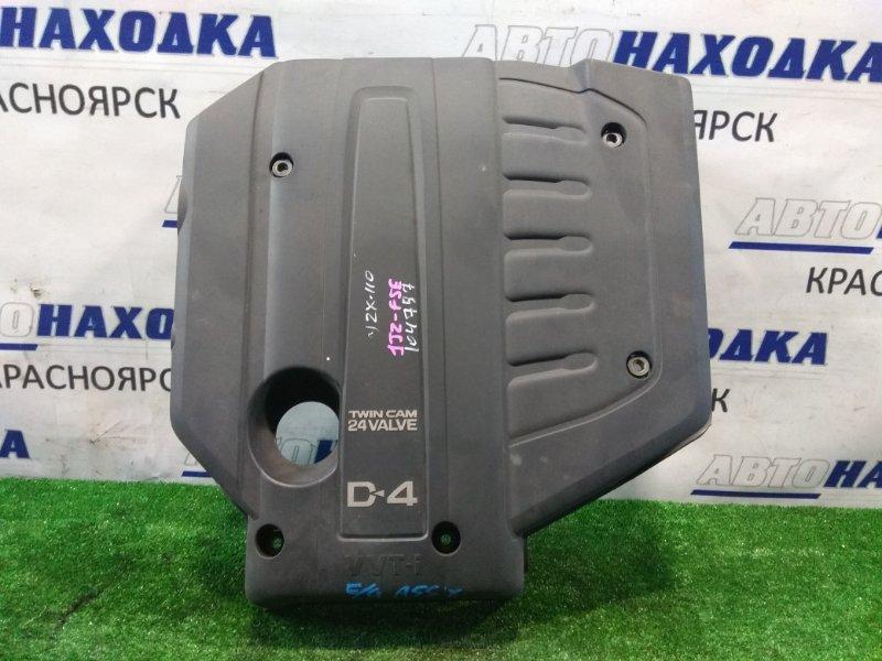 Крышка гбц Toyota Mark Ii JZX110 1JZ-FSE 2000 пластиковая декоративная крышка на ДВС (на крышку