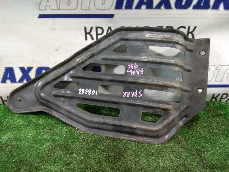 Защита двс Chevrolet Spark M200 F8CV 2005 железная, стандартная